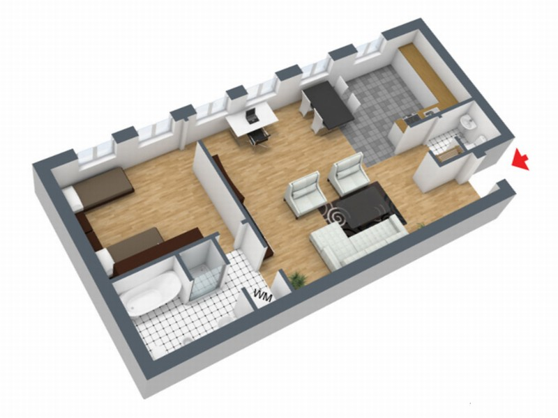 Fully Furnished Flats And Apartments Betweenn 50 Amd 73