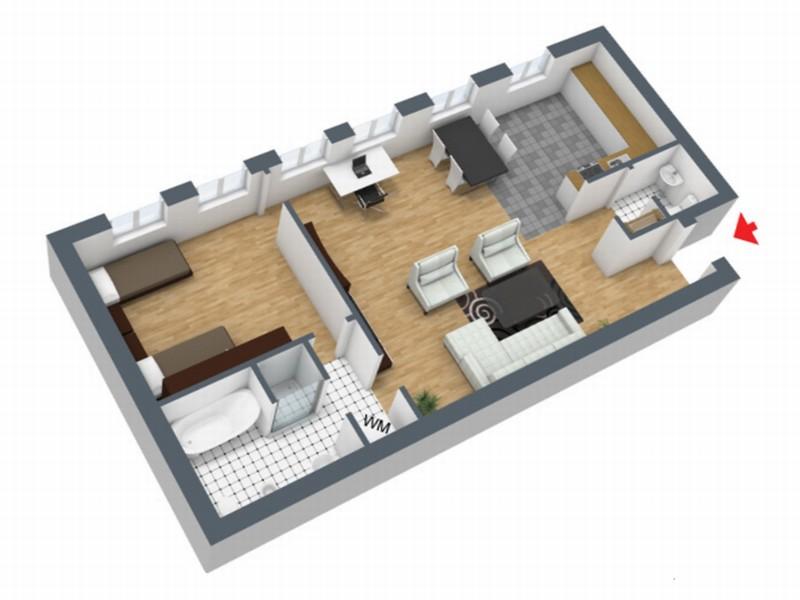 mehrere m blierte appartements und wohnungen zwischen 50. Black Bedroom Furniture Sets. Home Design Ideas